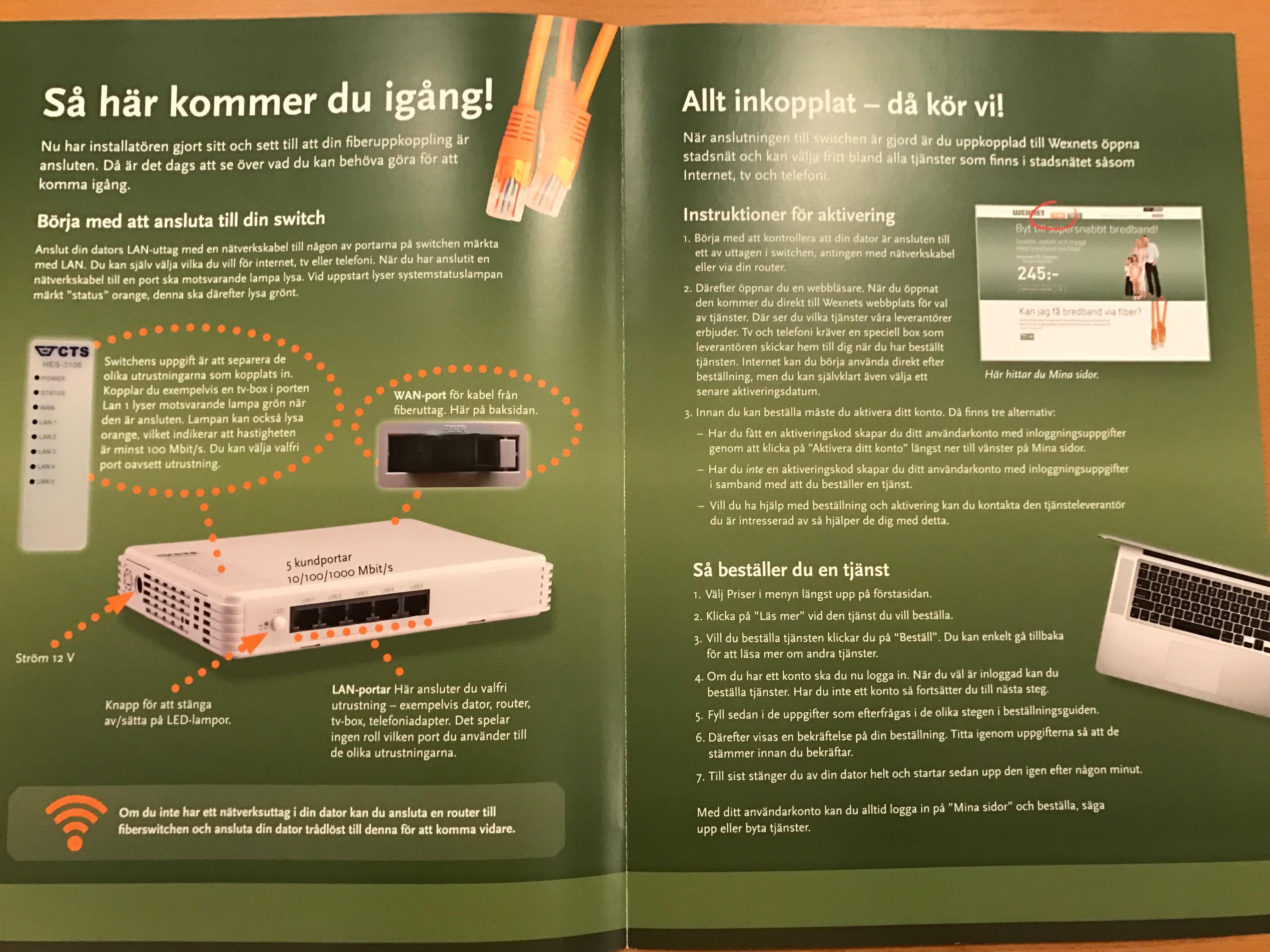 wexnet fiber installation